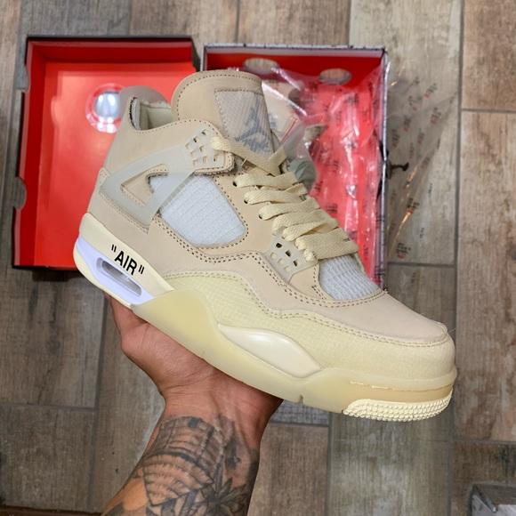 Jordan Shoes   Jordan Retro 4 Off White